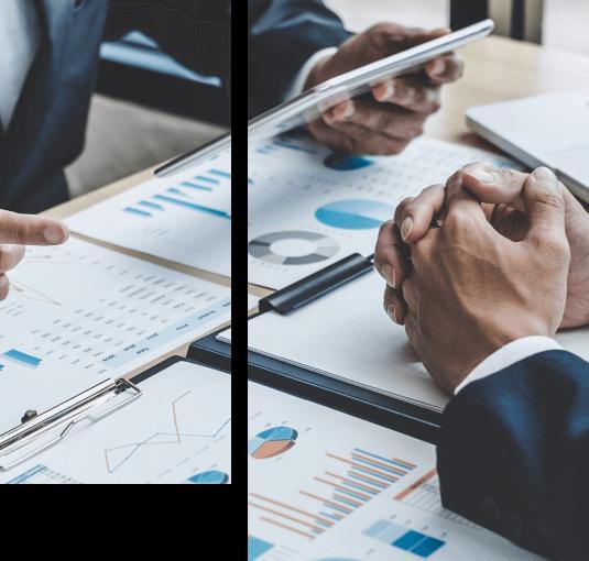 omawianie statystyk finansowych